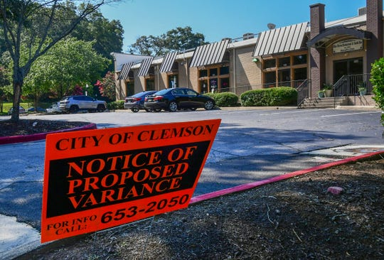 The City of Clemson will meet and talk about a proposed variance at The Shops of Clemson on College Avenue in Clemson at the Tuesday evening meeting.
