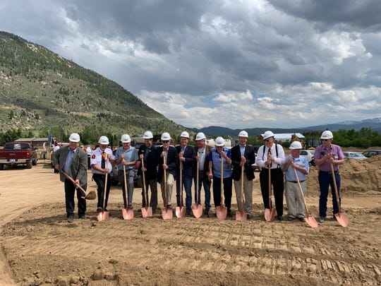 Officials broke ground Tuesday on a  $20 million Southwest Montana Veterans Home in Butte.