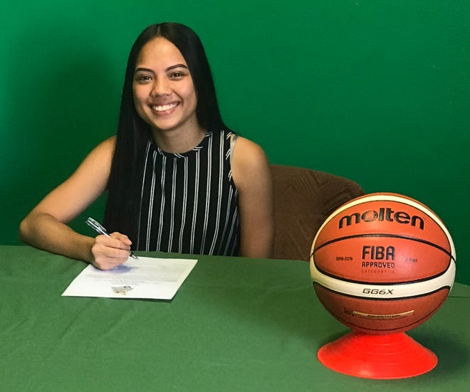 The University of Guam has signed shooting guard Isla Quinata to play basketball for the Lady Tritons in 2019-2020.