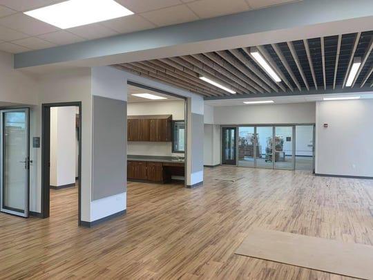 A look inside Hamilton Southeastern's newest school, Southeastern Elementary, in June 2019. The school will open in the fall.