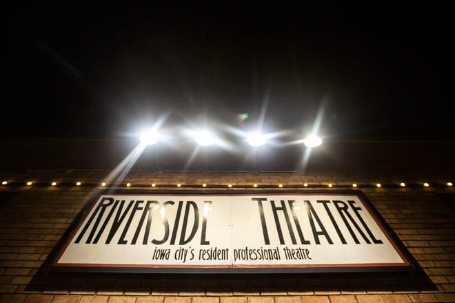 Riverside Theatre is pictured on Monday, July 1, 2019, at 213 N Gilbert Street in Iowa City, Iowa.