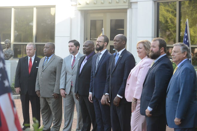 The ninth Jackson City Council was swore-in on July 2, 2019 in Jackson, Tenn.