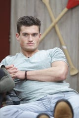 """Jackson Michie is houseguest on """"Big Brother"""" and a former UT student."""