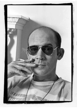 A summer-long art exhibition will honor the legacy of Kentucky-born writer and journalist Hunter S. Thompson.