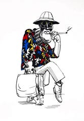 Hunter S. Thompson's longtime creative partner, Ralph Steadman, will also be featured in the Gonzo! exhibition.
