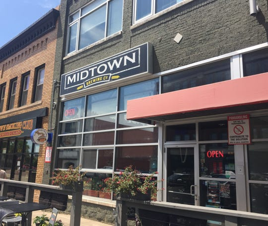 Midtown Brewing Co. in downtown Lansing, located on Washington Sq.