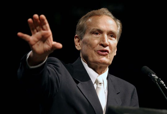 Memphis pastor Adrian Rogers was a three-term president of the Southern Baptist Convention and a leader in the denomination's conservative resurgence.