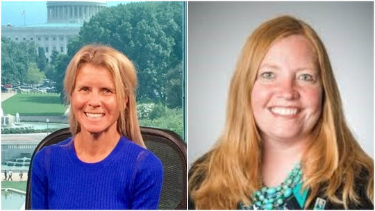 Whitefish Bay High School social studies teacher Pam Routhier (left) and Templeton Middle School social studies teacher Rhonda Watton (right) will be attending the White House Historical Institute in Washington, D.C. this summer.