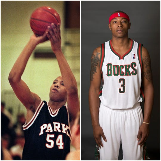 Caron Butler played at Racine Park and then for the Bucks in 2013-14.