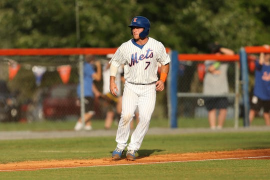 Matt O'Neill of Morristown is a catcher with the Kingsport (Tenn.) Mets, a rookie affiliate.