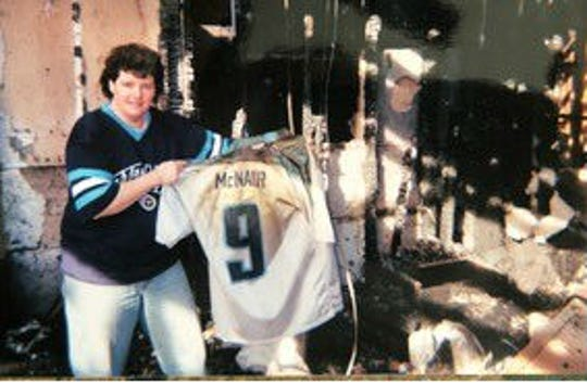 new concept 0a097 b42c2 Titans fan recalls special connection with Steve McNair