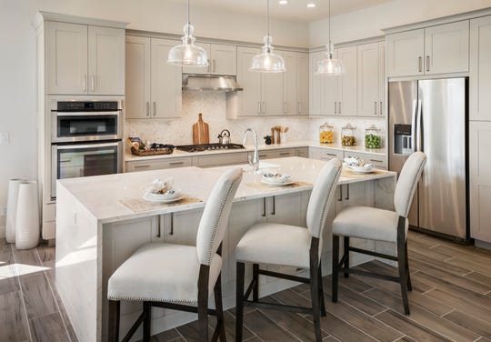 Tour the final coach homes during the open house event on Saturday, July 20 from noon until 2 pm at Azure at Hacienda Lakes by Toll Brothers.