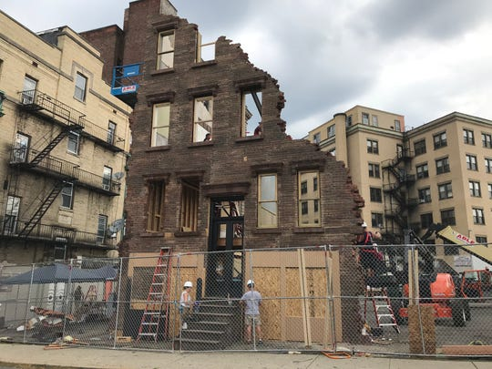 """West Side Story"" set going up in Paterson"
