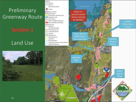 Section one of the Passaic County Highlands Rail Trail could be ready by 2020.