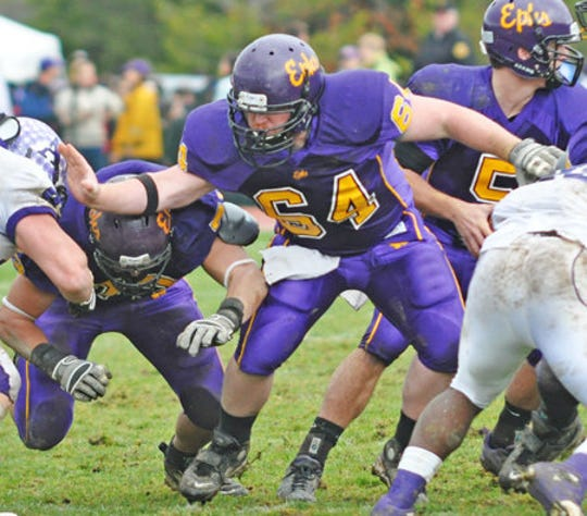 Timothy Bishop played football for Williams College.