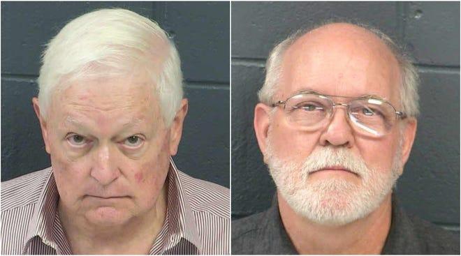 Dain Leslie Schult, left, and Joel Hixon