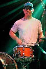 Drummer Austin Vidonn rehearses with  Sub Horizon in preparation for the group's Farmington show next week.