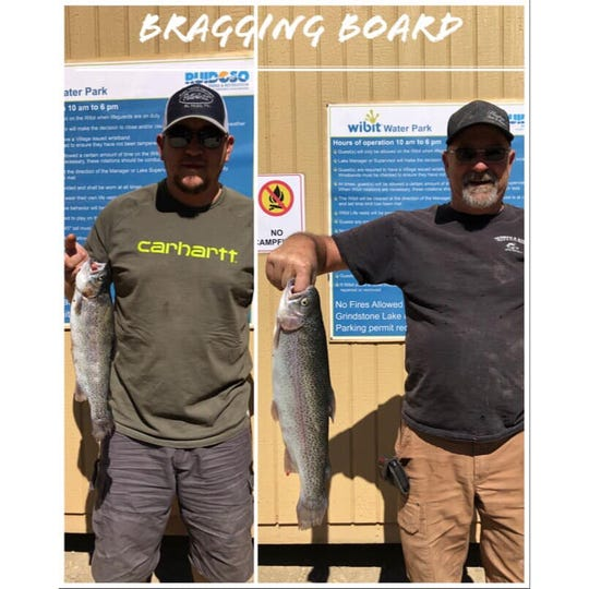 Residents and guests are catching quite the catch at Grindstone Lake.