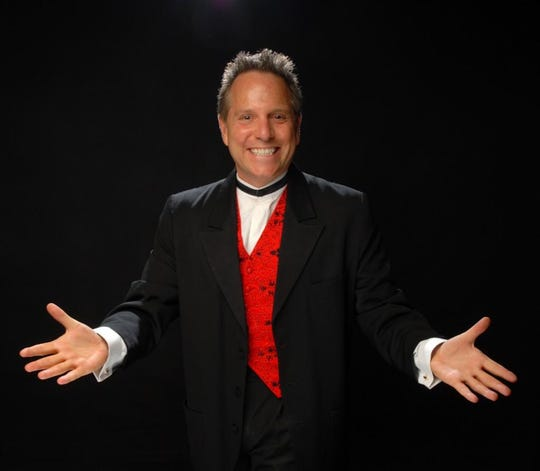 "Michael Shapiro has performed his cabaret show all over but ""Fabulous Places"" will be his Desert debut"