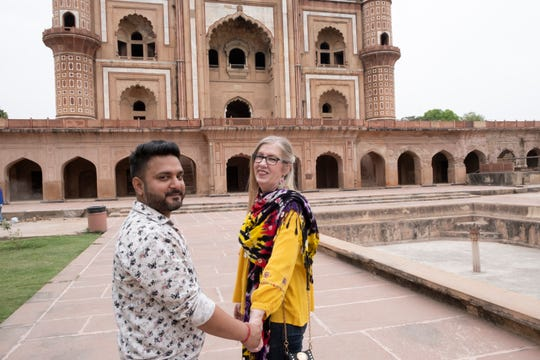 """90 Day Fiancé: The Other Way"" stars Jenny (right) and Sumit' in India"