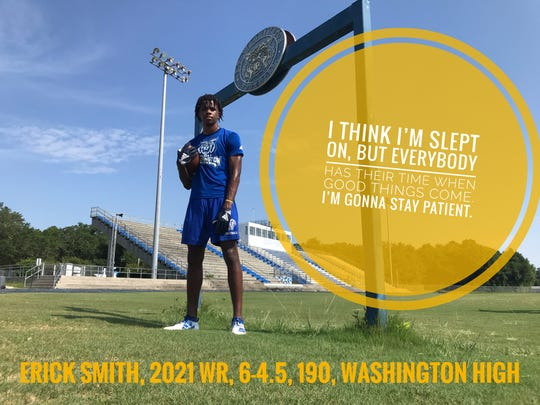 Erick Smith is ready for a big junior season