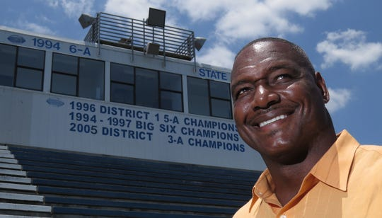 Derrick Brooks, pictured at Washington High in 2014 prior to his Pro Football Hall of Fame induction, was inducted into the National Federation of State High School Associations' Hall of Fame on June 30, 2019.