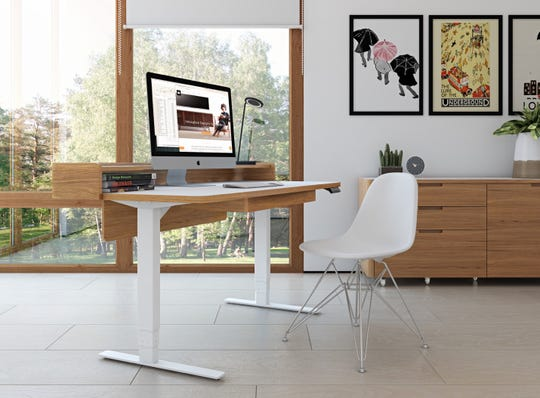 Kronos Lift Desk by BDI