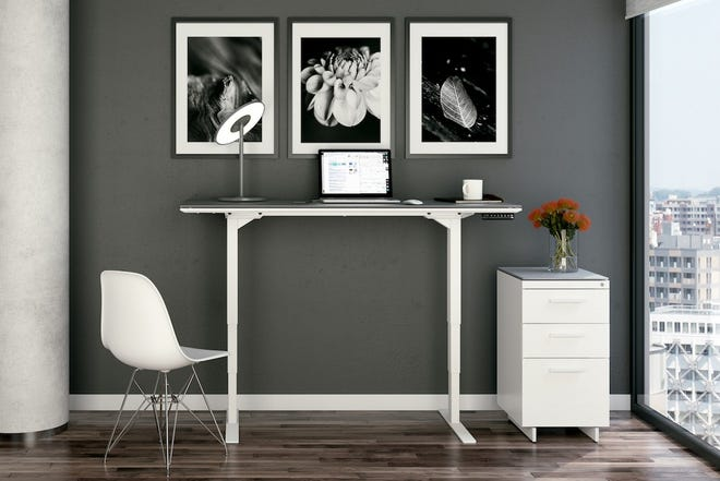 Centro Sit-Stand Desk by BDI