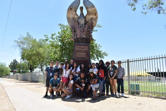 Eighteen high school students explored the history and changes of the area during TheArizona Republic/azcentral-sponsoredHigh School Media Innovation Camp.