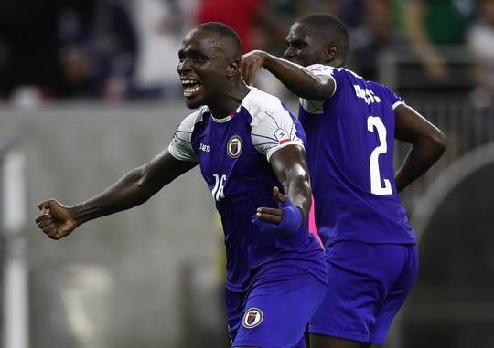 Los jugadores de Haití son fuertes y altos.