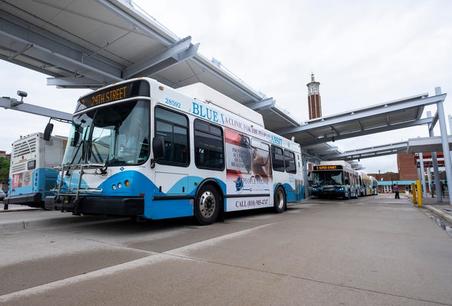Blue Water Area Transit will provide free, door-to-door transportation from 6 p.m. on New Year's Day to 3 a.m. on New Year's Eve to the city of Port Huron, Port Huron Twp., Burtchville Twp. and Fort Gratiot Twp. To get a ride, call (810) 987-7373, option 2.