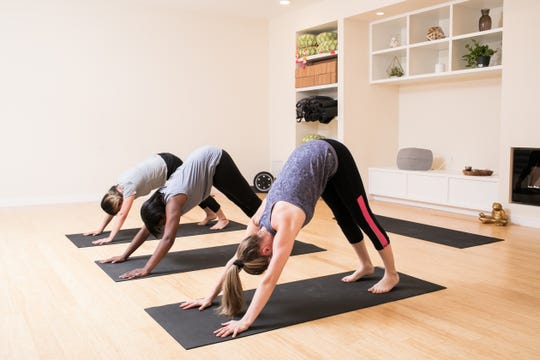 Yoga classes are offered at the Hudson Valley Healing Center in Poughkeepsie.