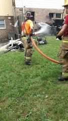 Franklin Fire Company responded at 8:14 p.m. on June 15 to a fire at 18 Eton Court in Hamilton Township.