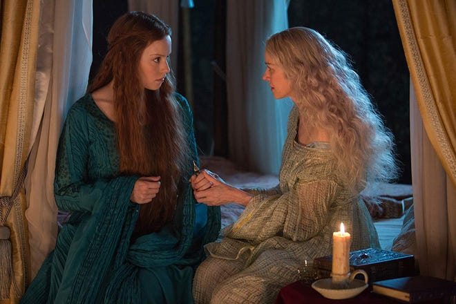 """Daisy Ridley, left, and Naomi Watts star in """"Ophelia."""" The movie opens Saturday at Small Star Art House."""