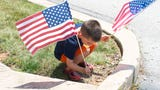 Berkshire Hathaway HomeServices Homesale Realty celebrated the 4th of July by planting 12,000 flags throughout York and Adams County.