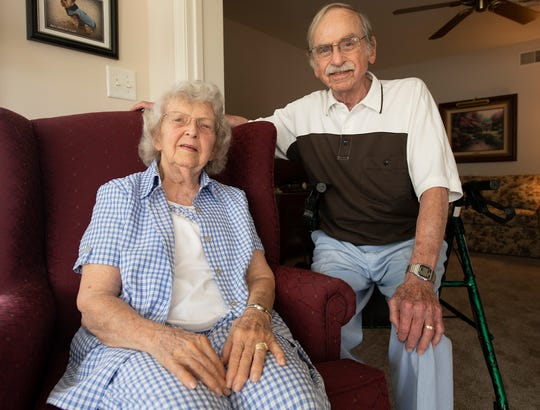 Gloria and Phil Kissinger have traveled the world, and now, at 88 and 89, they've settled in a place they always considered home: York.