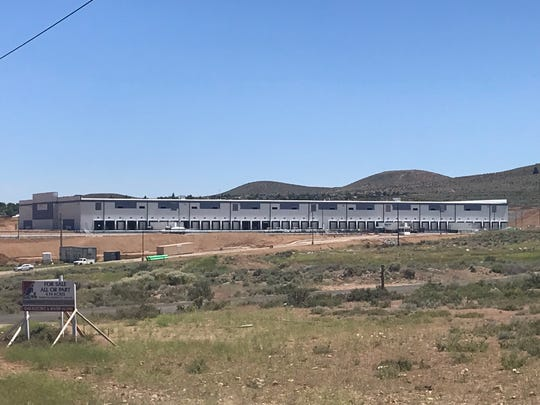 OnTrac's new facility, as seen on July 1, 2019.