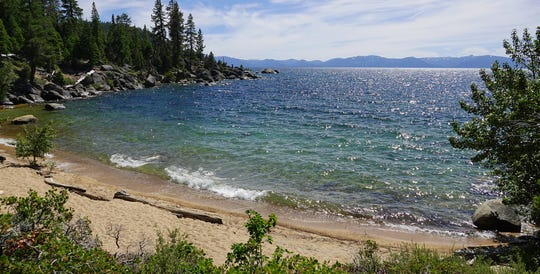 Creek Beach on Lake Tahoe's east shore on July 1, 2019.