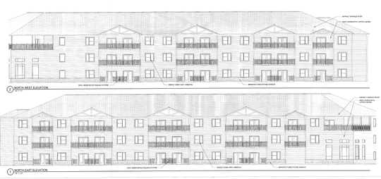 A senior housing complex with three floors, 80 units and around 80,000 square feet is proposed to be built on part of the site that was Wambach's Garden Center in Irondequoit.