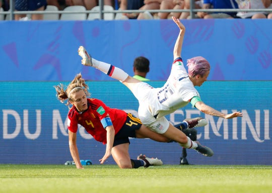 The U.S. Women's National Team defeated England in the semi-finals to advance to their fifth world cup final on Sunday. Mandatory Credit: Michael Chow-USA TODAY Sports