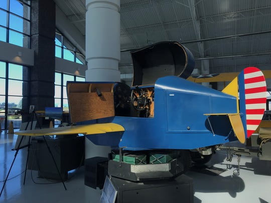 More than 500,000 pilots were trained on a Link flight simulator like this one on display at Evergreen Aviation & Space Museum in McMinnville. This Link Trainer was donated to the museum in 2000 and restored.