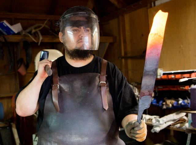 Salem man wins History Channel 'Forged in Fire' forging competition