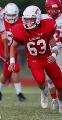 Christoval's Dustin Shriver is a defensive player to watch during the 2019 high school football season.