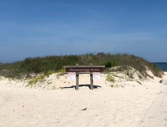 Kiptopeke State Park beach
