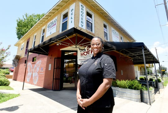 Hardette Harris owns Us Up North restaurant in the Allendale neighborhood.