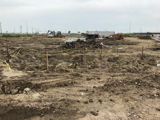 Construction has begun at the future Encompass Health hospital on the corner of 69th Street and Tallgrass Avenue.