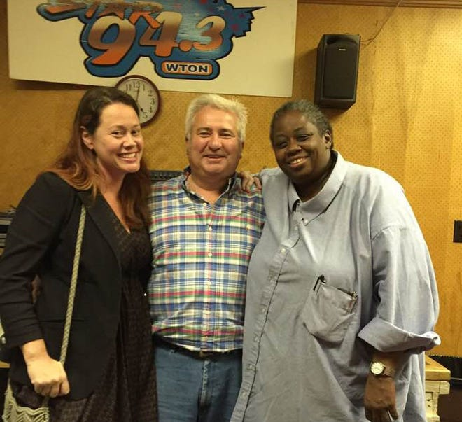 Melissa Mesko (left), John Huggins, and  Cass Johnson started the Shenandoah Valley Local Music Hour on Star 94.3.