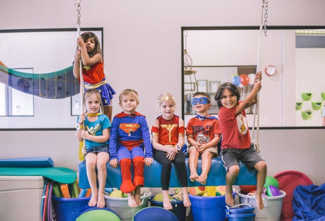PlayBig is a pediatric therapy center during the week, but they also host birthday parties, open gym time, and parent's nights out on the weekends.