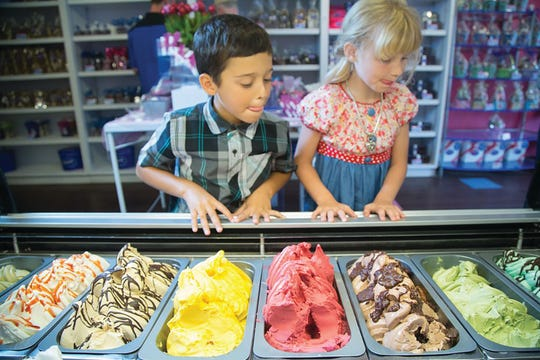 Peterbrooke Chocolatier is offering free gelato on Wednesdays during July.