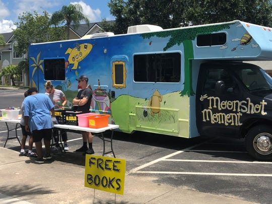The public is invited to participate in the Moonshot Word Collector Pop-Up Events from 5 to 7 p.m. July 9 in Vero Beach and July 11 in Fellsmere. These events will include The Learning Alliance's Luna the Literacy RV. Check Twitter.com/moonshotmoment for rain reschedule.